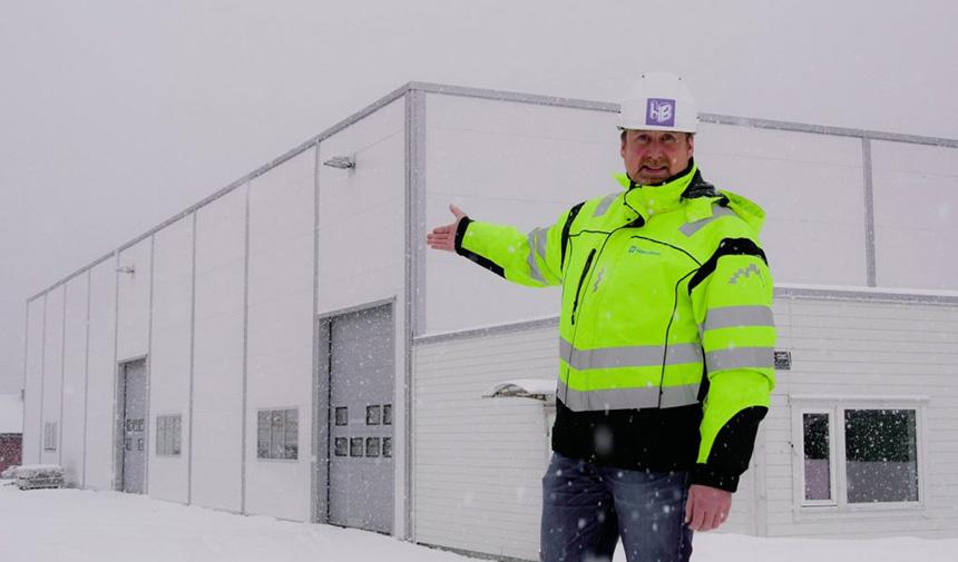 Harstadbygg Entreprenør AS bygger det nye avløpsrenseanlegget sør i Harstad!