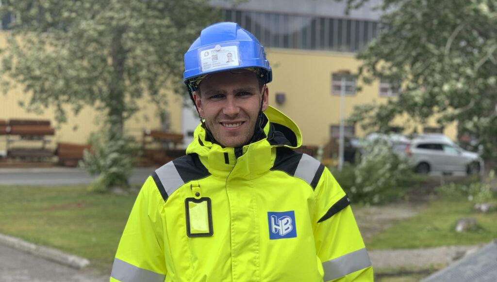 Jonas flyttet fra Oslo for å bli Harstadbygger!